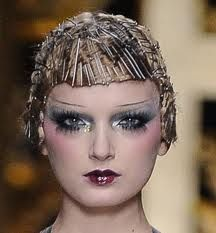 1920's makeup - witha very modern edge to it!