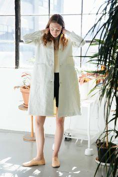 Samuji Wino Washi Paper Coat