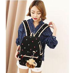 Amazon.com: Coofit Vintage Canvas Backpack Shoulder Bag Messenger Bag Purse Large 3PCS Set: Clothing