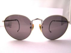 Vintage  40s style Giorgio Armani Round Lens by ifoundgallery, $195.00