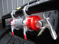 Billet Fire Extinguisher Roll Cage Mount http://sxsheadquarters.com/billet-fire-extinguisher-roll-cage-mount/