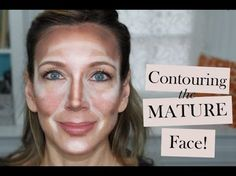 How to Contour the Mature Face   Contouring & Highlighting Tutorial - Lets Learn Makeup