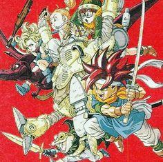 Interesting one by gamerdisplay #supernintendo #microhobbit (o) http://ift.tt/2fsXiTr Trigger Artwork #crono #Robo #frog #marle #lucca #ayla #chrono #chronotrigger #sword #retrogaming #nintendo #gaming #juegos #robot #rpg #akiratoriyama #guerreros #supernes  #squaresoft #squarenix #juegosretro #gamer #gamers #gamesartwork