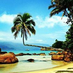 Que tal curtir as belezas do nosso país? O @embarcou registrou esse visual em Ilha Grande, no Rio de Janeiro.