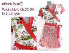 Die Sonne ist da!!  e-Book Rosi♡ Wickelkleid von Größe 32-50 inklusive ausführlicher Nähanleitung erhältlich.  *eBook Nähanleitung mit Schnittmuste...