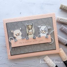 Stampin Up Catalog, This Little Piggy, Little Critter, Animal Cards, Perfect For Me, Stamping Up, Tgif, Facebook Sign Up, Stampin Up Cards