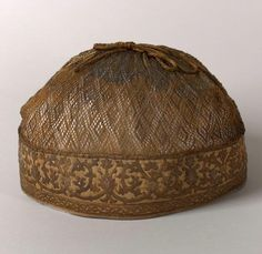 The hair cap of Maria, the second wife of Ivan IV, the 16th century, Russia (may be volosnik)