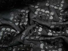 This embroidered chiffon is killer - Remanant Warehouse - I WANT THIS ONE!!!