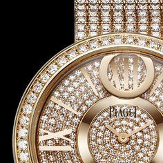 Rose gold Diamond Watch G0A37158 - Piaget Luxury Watch Online