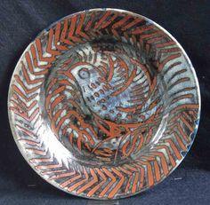 Anthony O'Brien Ash Stoneware Ireland wax resist Jun over tenmoku Ceramic Decor, Ceramic Bowls, Stoneware, Ceramic Artists, Dinner Plates, Confused, Jun, Glaze, Ireland