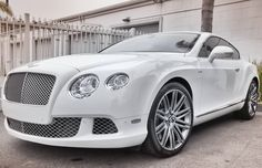 Bentley Continental GT White Bentley is always welcome Powered by: @JeffThings
