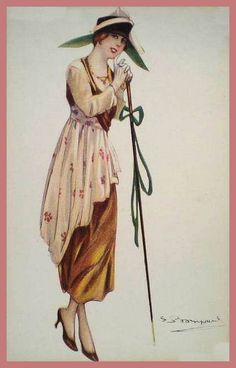 Sergio Bompard - from the series of women with walking sticks