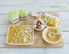 #miniature #food #minifood #making #apple #pie #set #eggs #flour #sugar #apples