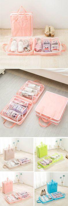 US$8.13 Nylon Shoes Storage Bag /Travel Bags