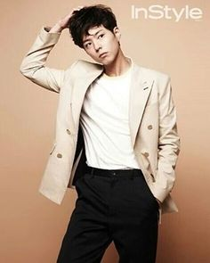 Bogum stands for INSTYLE Magazine