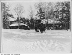 Vintage Photographs of Toronto Snow Storms that took place over the years including some of the aftermaths and how the city dealt with the snow. Toronto Snow, Toronto Ontario Canada, Snow Storms, Park Pavilion, Vintage Photographs, Over The Years, City, Places, Outdoor