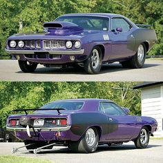 926hp '71 Plymouth Barracuda runs 1/4 Mile in 7.8 sec