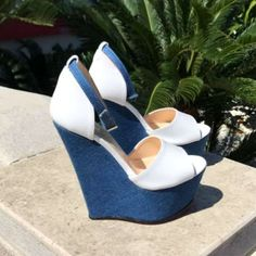 Fashion Shoes Made in Italy Hot High Heels, Wedge Heels, High Wedges, Heeled Mules, Fashion Shoes, Boutique, Stilettos, Slay, Jeans