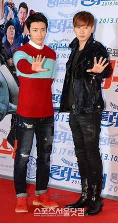 131014 OFFICIAL, Eunhyuk and Donghae at Fasten Your Seatbelt Movie Premiere [12P]