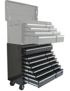 Excel Tbr4013x Black 42 Inch Steel Roller Cabinet