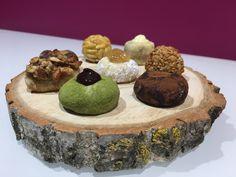 Panellets veganos Muffin, Cooking Recipes, Sweet Treats, Vegans, Vegetarian Recipes, Homemade, Muffins, Cupcakes