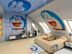 Beautiful Girls Bedroom Ideas for Small Rooms (Teenage Bedroom Ideas), Teenage and Girls Bedroom Ideas for Small Rooms, Pink Colors, Girls Room Paint Ideas with Beds Wall Art Girls Room Paint, Bedroom Paint Colors, Small Room Design, Home Room Design, Dream Rooms, Dream Bedroom, Kids Bedroom Designs, Bedroom Ideas, Doraemon Wallpapers