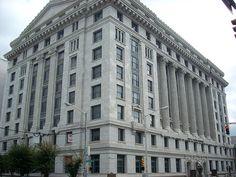 Fulton County Courthouse in Georgia.