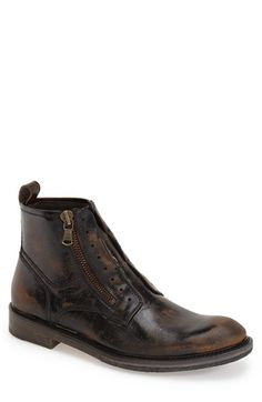John Varvatos Collection Side Zip Boot (Men) available at #Nordstrom