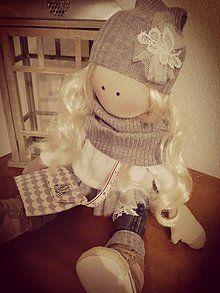 Hračky - Látková bábika 3 - 8433615_