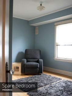 Painting The Spare Bedroom