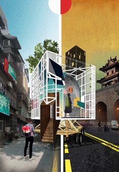 Urban Research: The Gaps of Public Space by Monolith Architects - 谷德设计网 Public, Layout, Urban, City, Page Layout, Cities