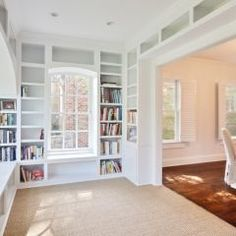I love the idea of having all that space for my books. I love my Kindle, but nothing like a REAL good book!