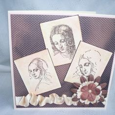 Three Ladies Card by Handcrafted by Jo