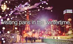 Visiting Paris in the Wintertime #BucketList