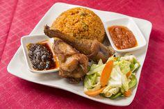 Ghanaian Jollof Rice & Chicken