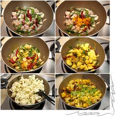 Aloo Gobhi – Stir Fry Potatoes and Cauliflower  - Maya Kitchenette