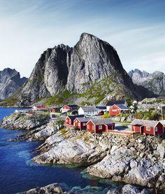 Vila Lofoten, Nordland, Noruega