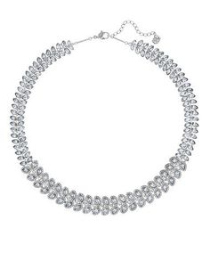 Swarovski Baron All-Around Necklace Women's Silver