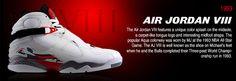 History of Air Jordan 8