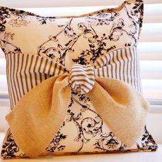 Love this French Country pillow!