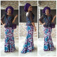 Fabulous & Stylish #ankara  Skirt and Blouse Styles You Should Rock Next - DeZango Fashion Zone