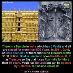 Fun Facts About India, India Facts, Wow Facts, Wtf Fun Facts, Padmanabhaswamy Temple, Science Chart, Ancient Indian History, Indian Customs, True Interesting Facts