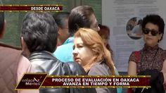 EN TIEMPO Y FORMA MARCHA LA EVALUACIÓN DOCENTE EN OAXACA