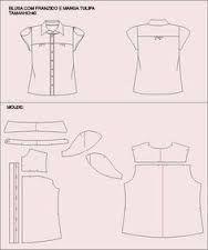 Resultado de imagen para patron blusas