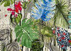 Estampados tropicales, nueva colección de Designers Guild