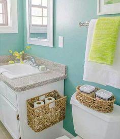 Sweet colour for a bathroom