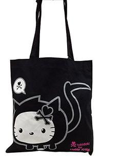 d54d52b75 Black Tote Bag, Sanrio, Purses And Bags, Hello Kitty, Reusable Tote Bags