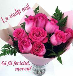 Good Morning Video Songs, Good Morning Gif, Happy Birthday, Lily, Rose, Flowers, Happy Brithday, Pink, Urari La Multi Ani