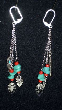 Westerm Style Dangle Earrings $8.75