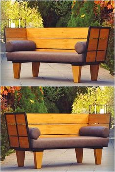 100 Pallet Sofa or Couch DIY Ideas for Outdoor and Patio: These DIY pallet projects will make your patio full with the beauty of nature and well-formed in Wood Pallet Bar, Wood Pallet Planters, Pallet Lounge, Diy Pallet Sofa, Pallet Patio Furniture, Diy Couch, Diy Pallet Projects, Pallet Ideas, Furniture Ideas